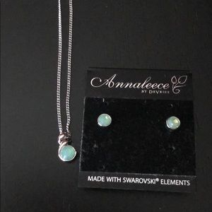 Annaleece by Devries earring & necklace set NWT